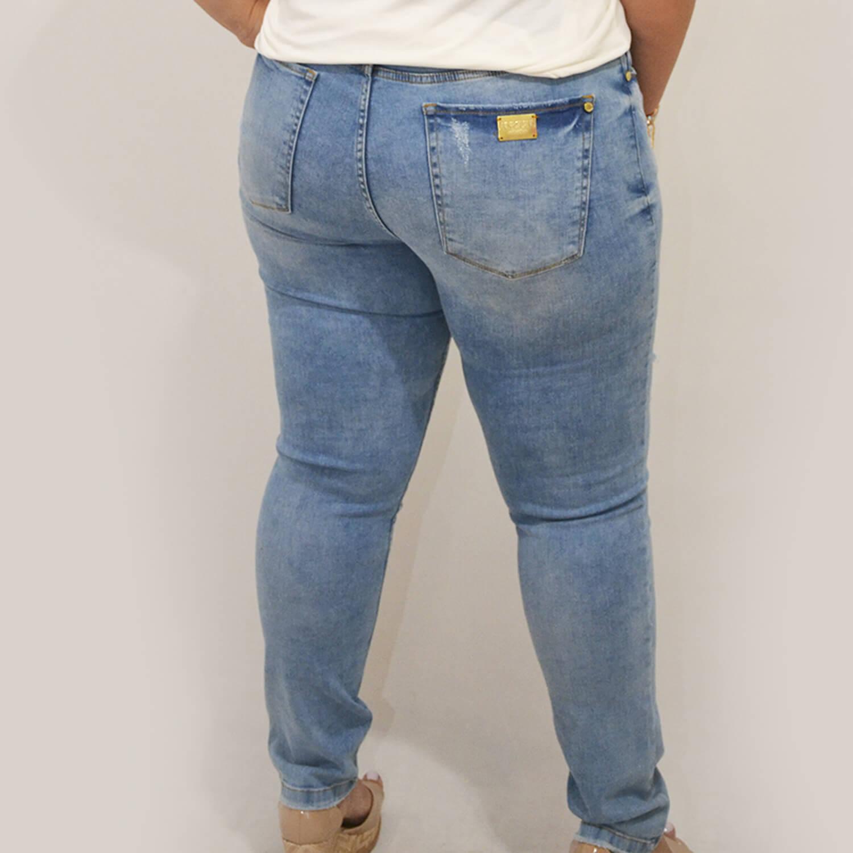 Calça Jeans Feminina Skinny Plus Size - Annual Plus