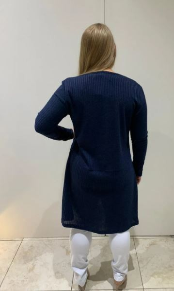 CARDIGAM PLUS SIZE LG TRICOT A14765