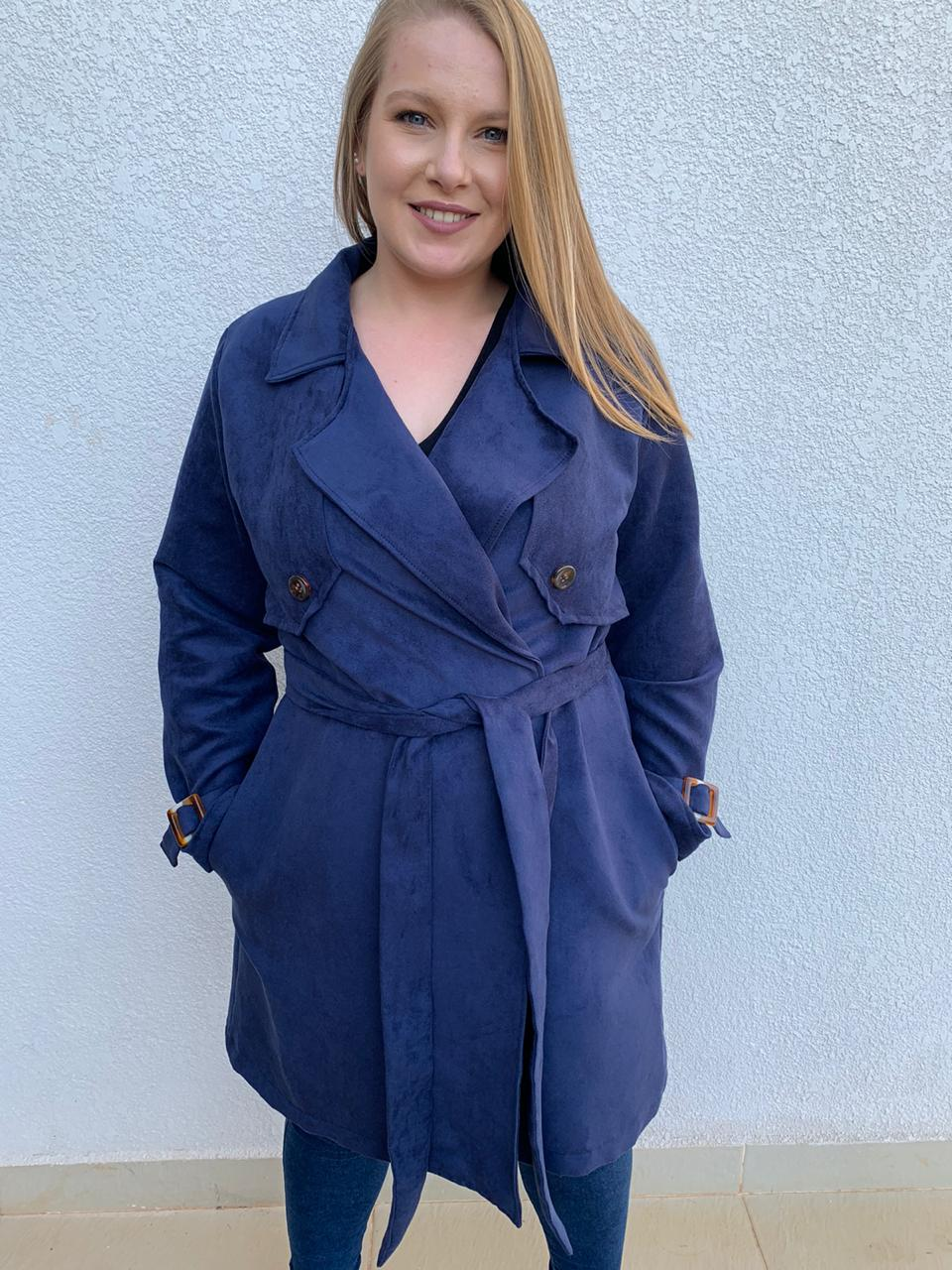 CASACO PLUS SIZE TRENCH COAT A14763