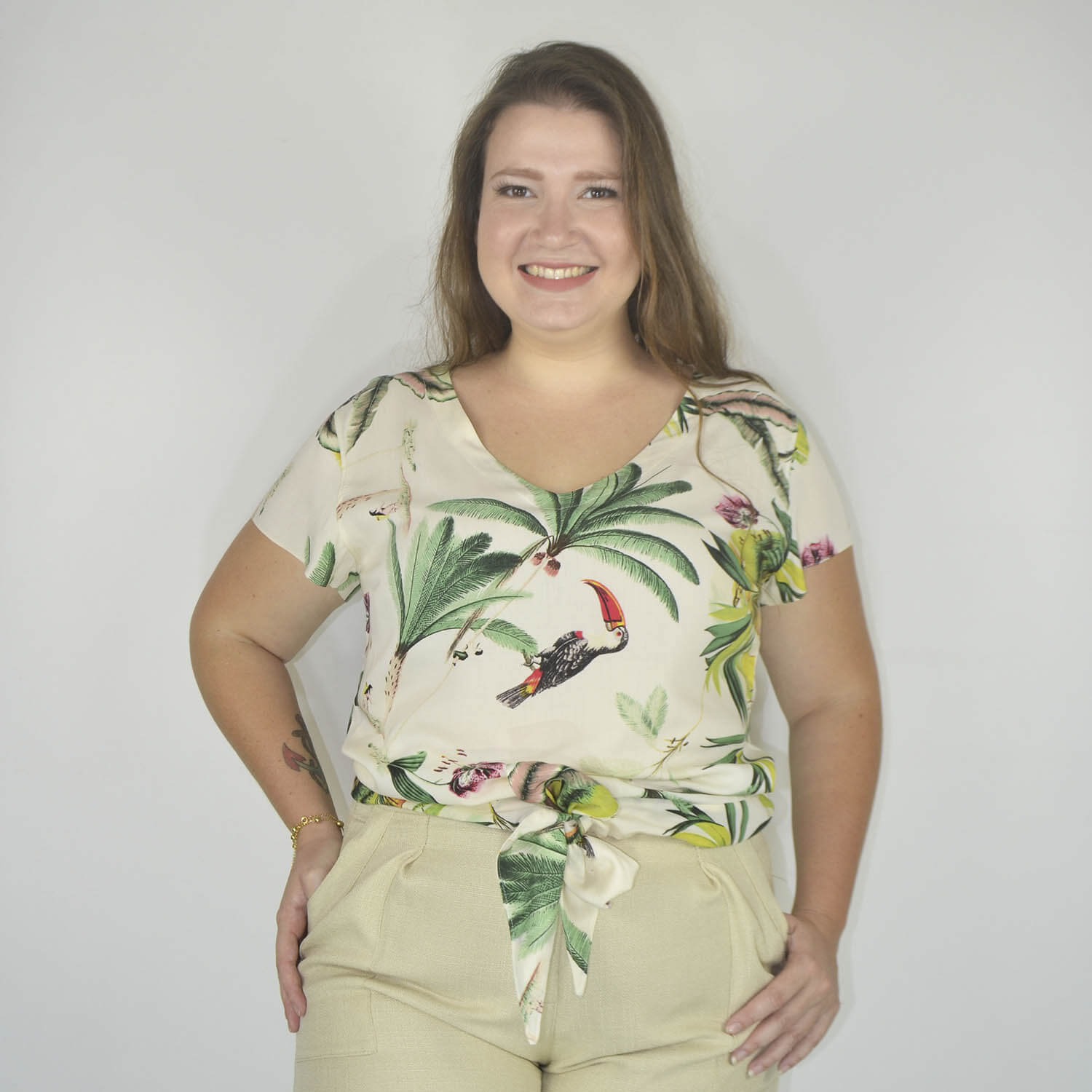 Blusa Feminina Plus Size - Annual Plus