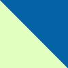 Verde agua com azul