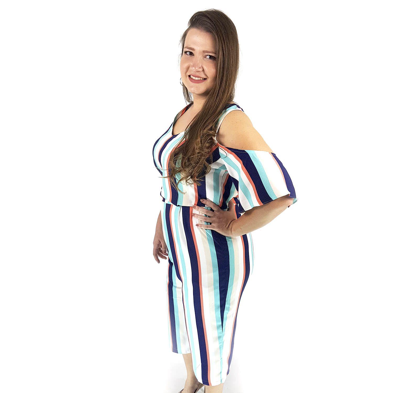 Macacão Feminino Plus Size - Annual Plus