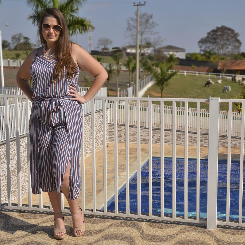 Regata Feminina Listrada Plus Size - Annual Plus