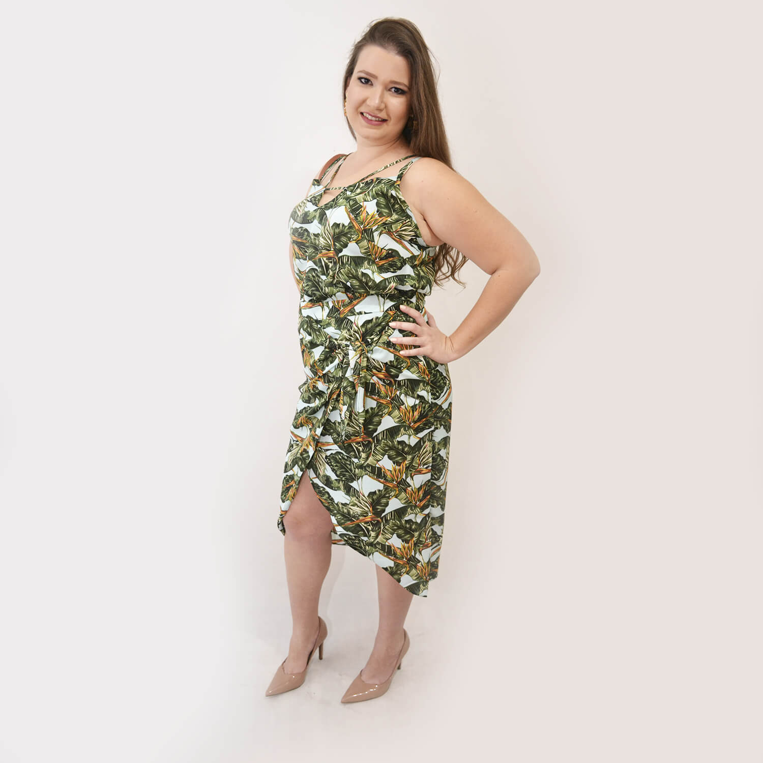 Saia Feminina Estampada Plus Size - Annual Plus