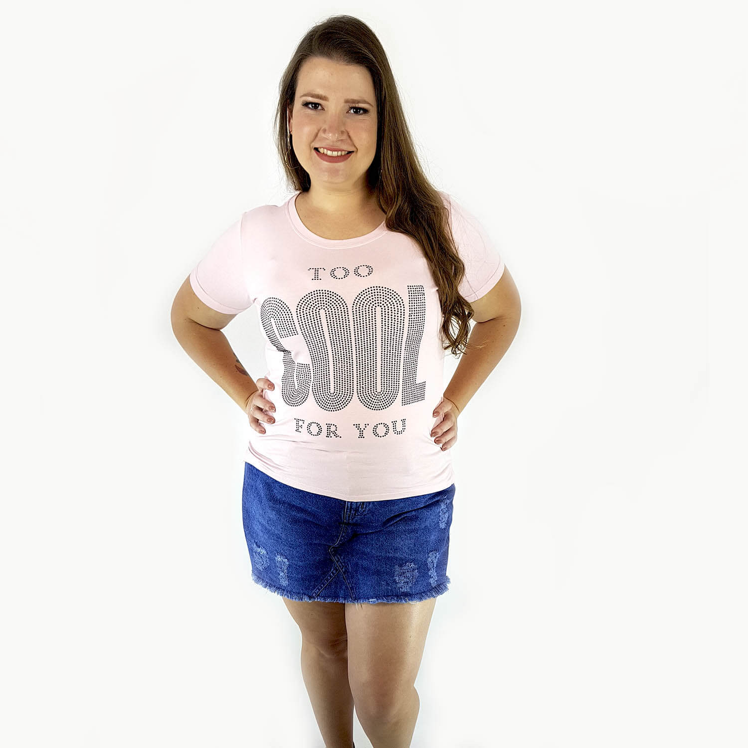 Shorts Saia Feminino Plus Size - Annual Plus