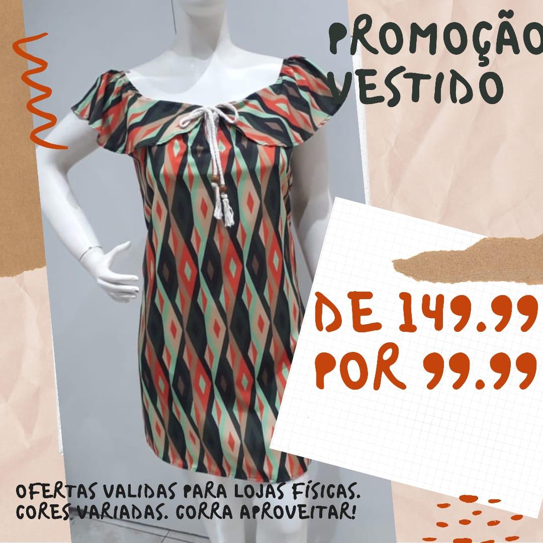 VESTIDO CIGANA DECOTE  A14468