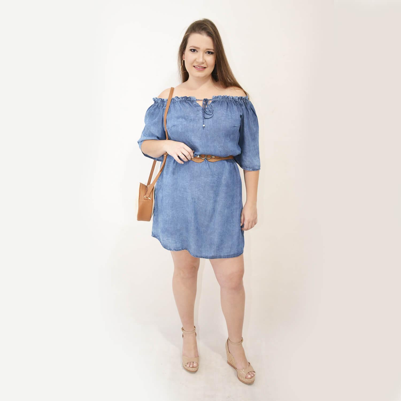 Vestido Feminino Ciganinha Plus Size - Annual Plus