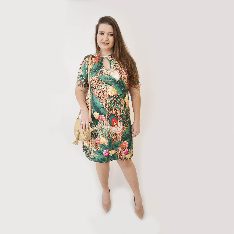 Vestido Feminino Plus Size Eduarda - Annual Plus