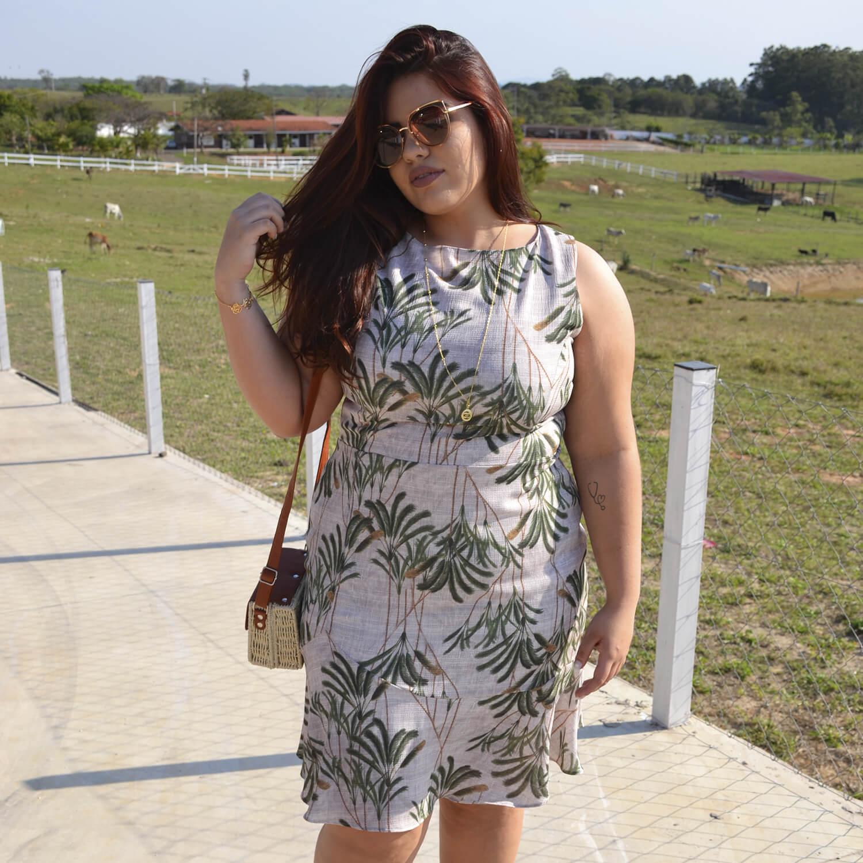 Vestido Feminino Plus Size Isabella - Annual Plus