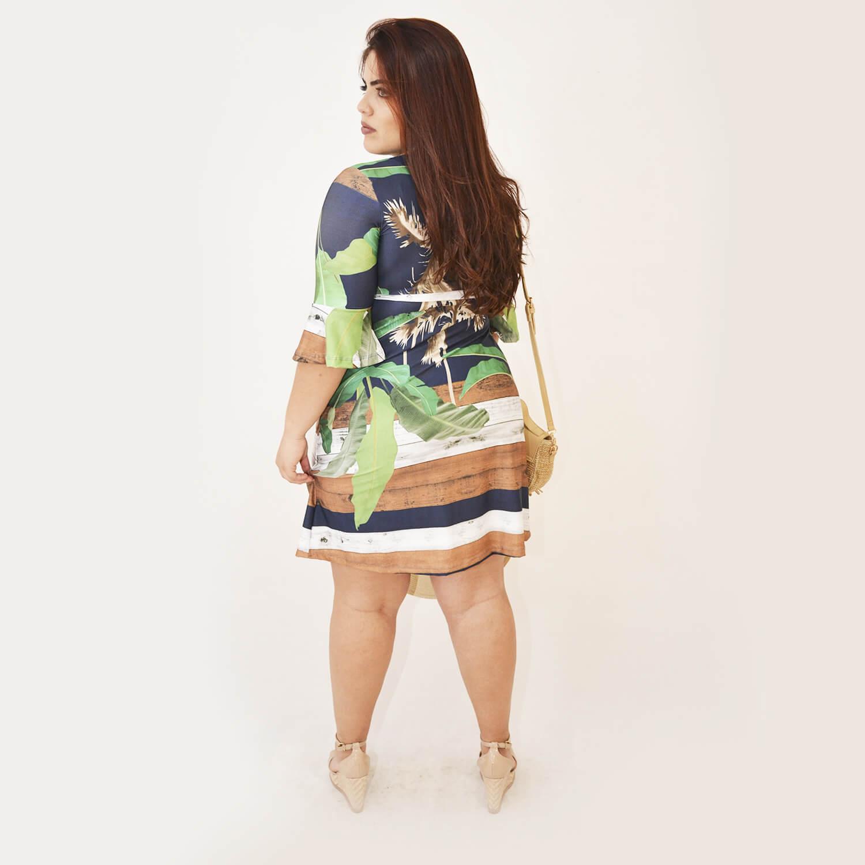 Vestido Feminino Plus Size Simone - Annual Plus