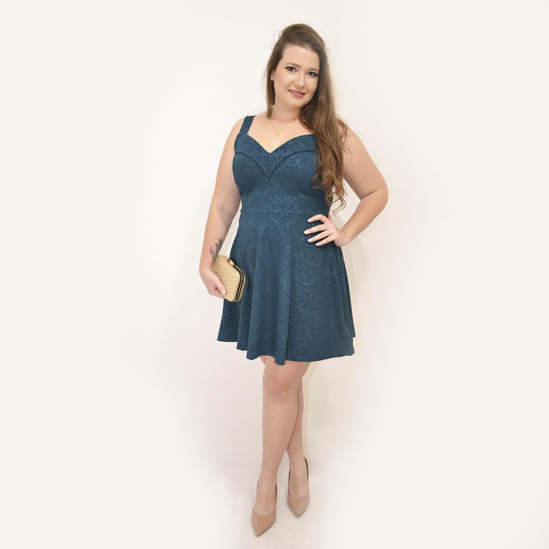 Vestido Feminino Plus Size Mariana - Annual Plus