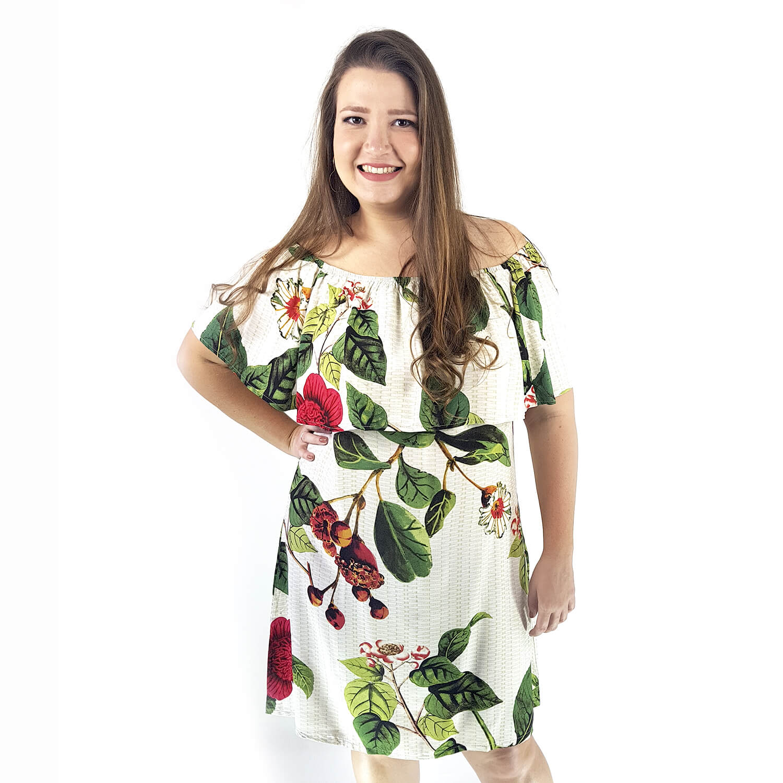 Vestido Feminino Plus Size Rafaela - Annual Plus