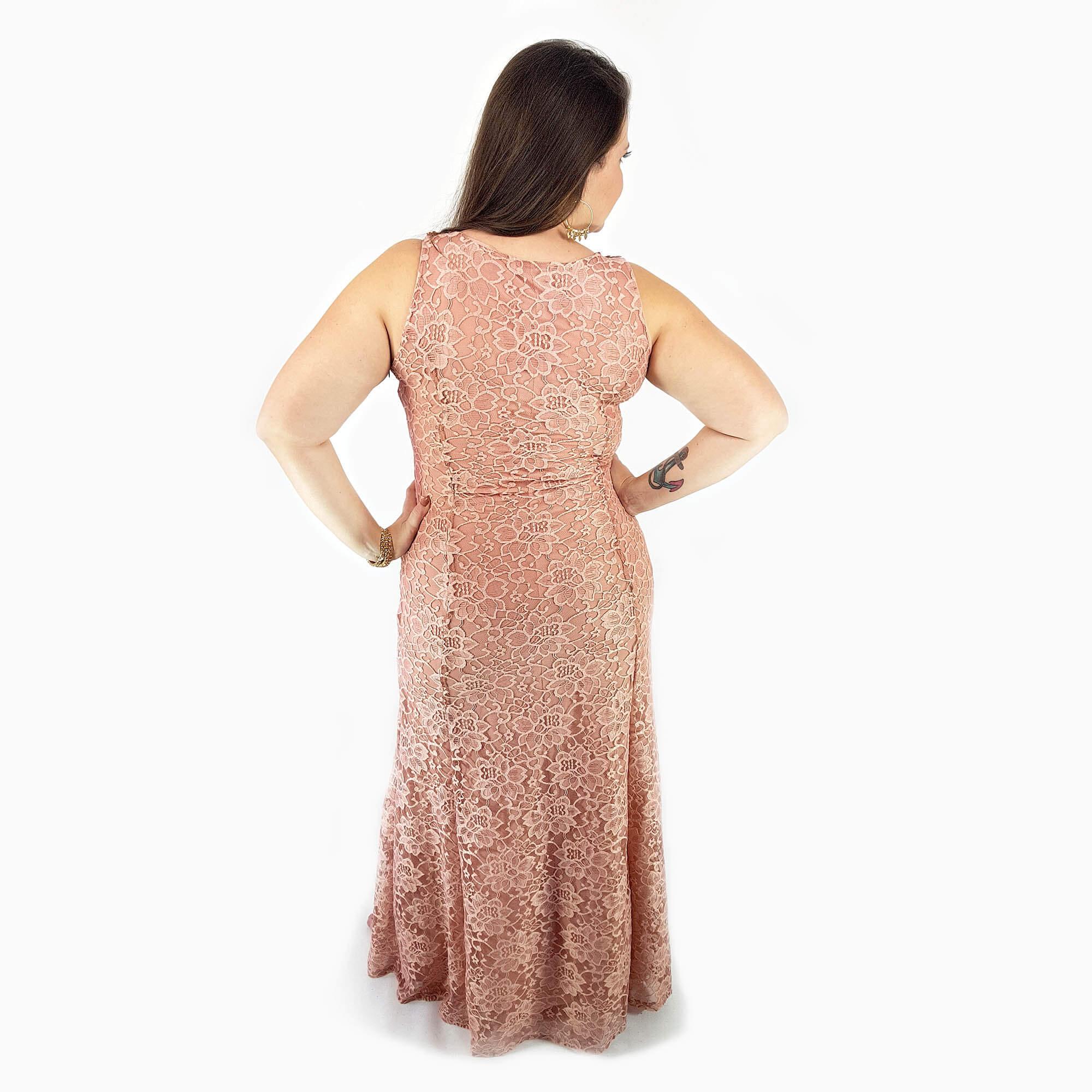 Vestido Festa Feminino Plus Size - Annual Plus