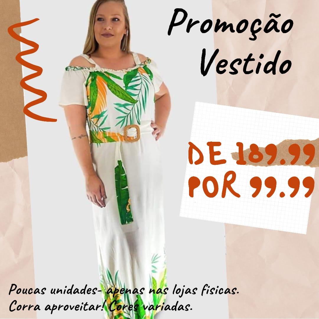 VESTIDO LONGO DECOTE FRU FRU A12347