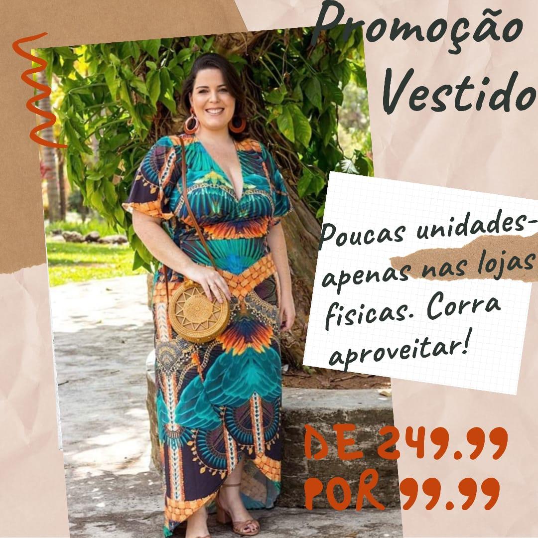 VESTIDO PLUS SIZE ANN NICOLE A13970