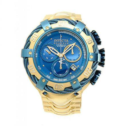 70eaf34928c Relógio Invicta Bolt modelo 21361 Dourado   Azul