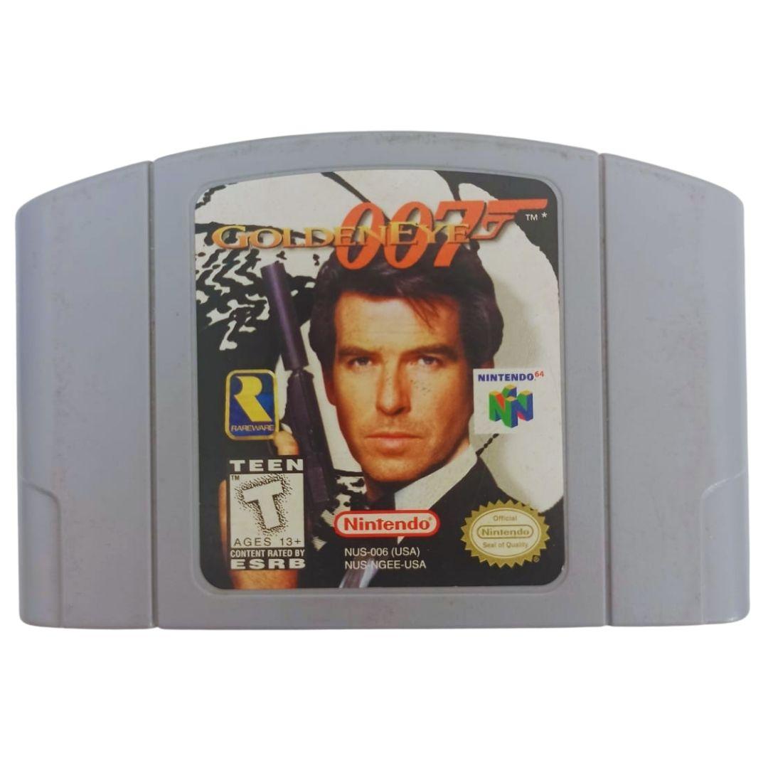 007 Golden Eye - Nintendo 64 - Usado