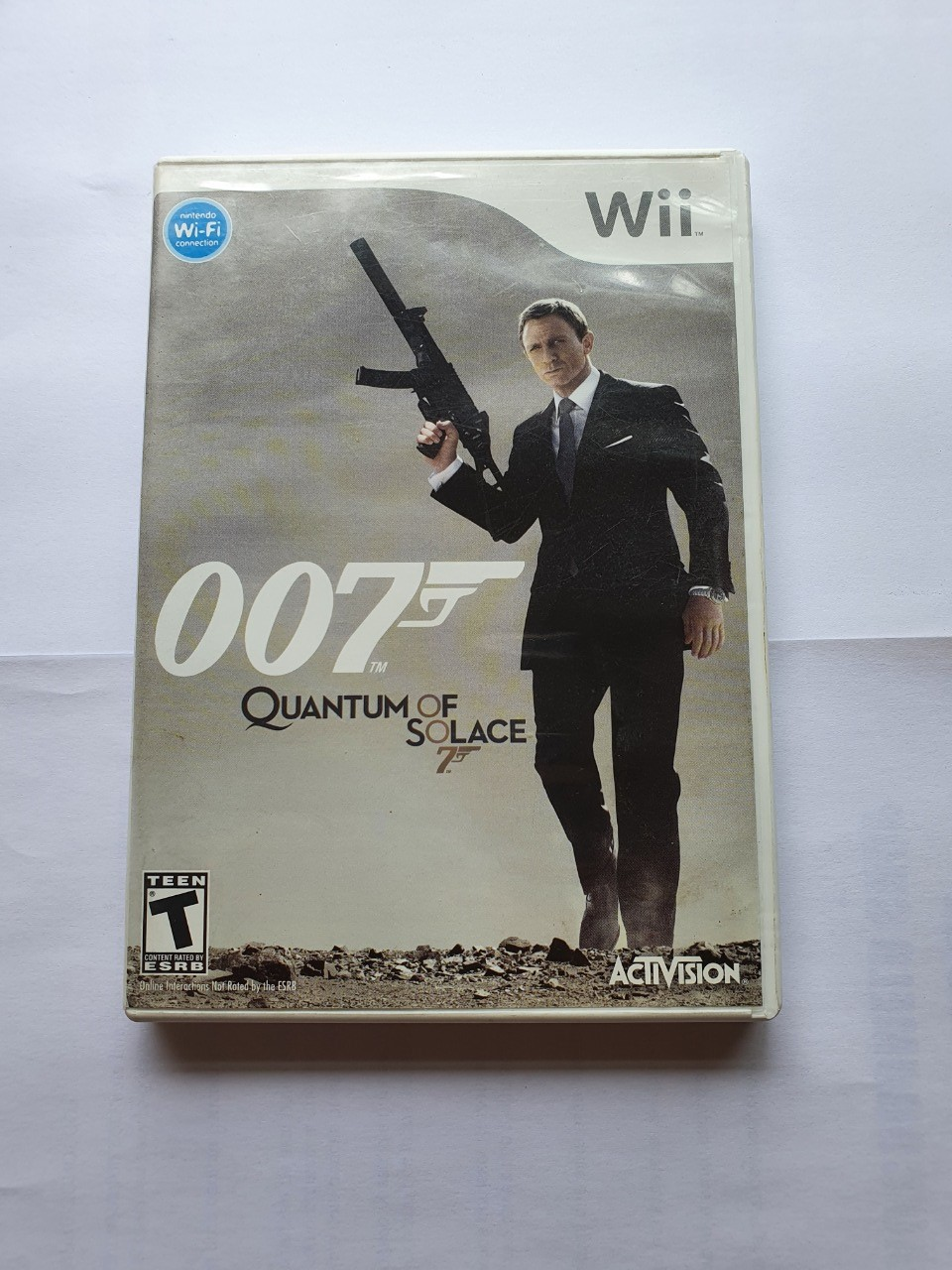 007: Quantum Of Solace - Usado - Wii