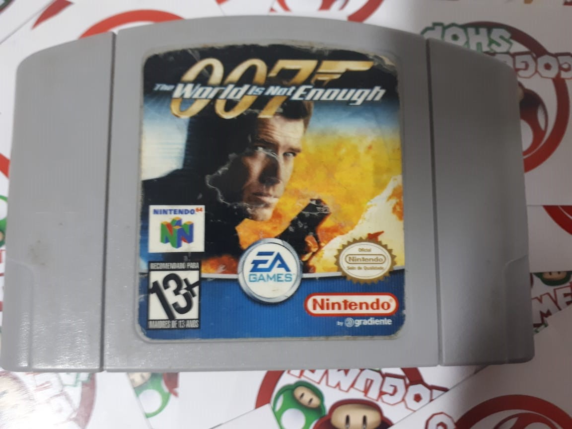 007 The World Is Not Enough - USADO - Nintendo 64