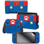 Adesivo Para Super Mario Outfit Com 3 Adesivos - Nintendo Switch