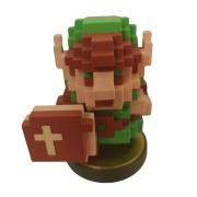 Amiibo - Link 8bit - The Legend of Zelda - Usado