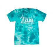 Camiseta Tie Dye Azul Zelda