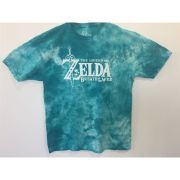 Camiseta Zelda Breath of the Wild Tie Dye TAMANHO M