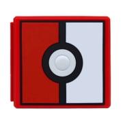 Case Estojo para Cartuchos - 12 Slots - Pokebola - Nintendo Switch/Nintendo Switch Lite