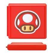 Case Estojo para Cartuchos - 12 Slots - Toad - Nintendo Switch/Nintendo Switch Lite