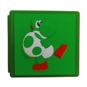 Case Estojo para Cartuchos - 12 Slots - Yoshi - Nintendo Switch/Nintendo Switch Lite