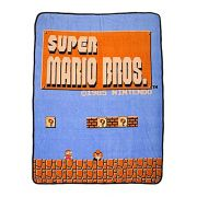 Cobertor - Nintendo Super Mario Bros