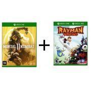 Combo Mortal Kombat 11 + Rayman Origins