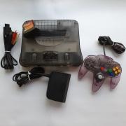Console Nintendo 64 - Preto Jaboticaba - Usado