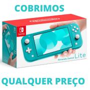 Console Nintendo Switch Lite Turquesa - PAGAMOS SEU FRETE
