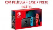Console Nintendo Switch Neon C/ Película de Brinde - Nova Edição