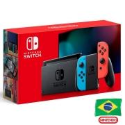 Console Nintendo Switch Neon - Nova Edição - 32GB - Versão Nacional