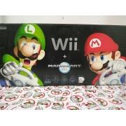 Console Nintendo Wii Mario Kart Bundle Edition - Black - USADO