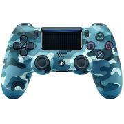 Controle Dualshock 4 Camuflado Azul - Sem - Fio - Ps4
