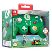 Controle PDP Luigi Wired Fight Pad Pro GameClube  (Envio Internacional) - Nintendo Switch