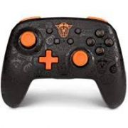 Controle  Powera Enhanced  Crash preto - Nintendo Switch
