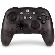 Controle Powera Enhanced Sem Fio Black Edition - Nintendo Switch