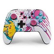 Controle Powera Enhanced Sem Fio Pokemon Battle - Nintendo Switch