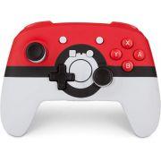 Controle PowerA Enhanced Sem Fio PokeBall - Nintendo Switch