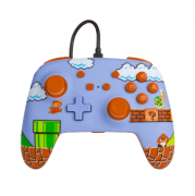 Controle PowerA Enhanced Wired - Super Mario Bros. - Nintendo Switch