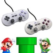 Controle SN30 Pro USB 8BitDo - Nintendo Switch - Envio Internacional - Frete Grátis