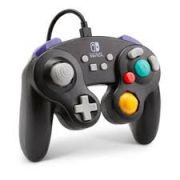 Controle Wired Game Cube Black PWA-A-01892 - Nintendo Switch