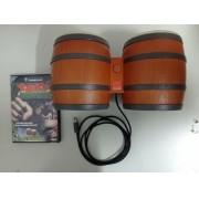 Donkey Kong Jungle Beat + DK Bongos - USADO - Nintendo GameCube