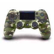 Controle Dualshock 4 Camuflado Verde - Sem - Fio - Ps4