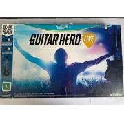 Guitar Hero Live + Guitarra - Nintendo Wii U - Usado