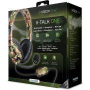 Headset Dreamgear X-Talk Gaming Camuflado Com Microfone Premium